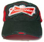 .Officially Licensed Budweiser 'Bow Tie' Baseball Cap